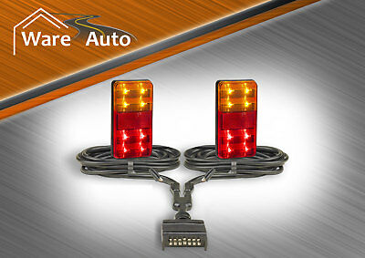 LED Trailer lights and complete cable kit