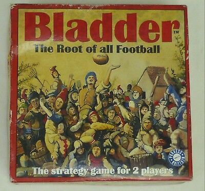 Bladder - The Root of all Football -The Strategy Game For 2 Players - Rugby