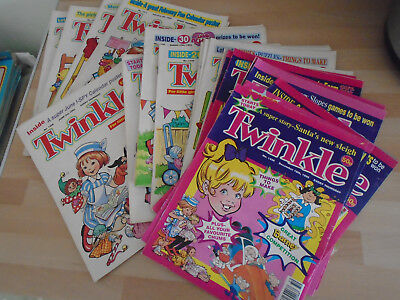 44 TWINKLE  COMICS FROM 1995, issues on listing