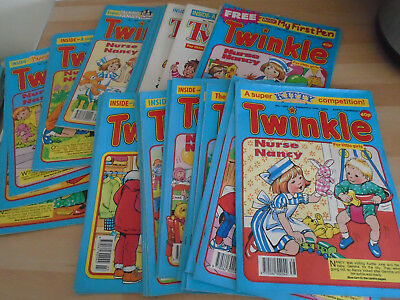 49 TWINKLE  COMICS FROM 1994, issues on listing