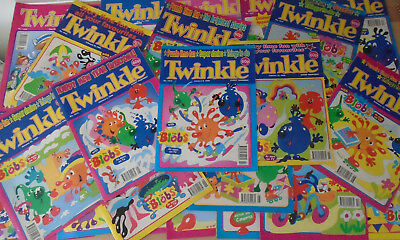 22 TWINKLE  COMICS from 1999, 1615-1636 consecutively