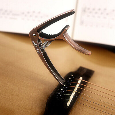 ADAGIO Professional - Bronze Capo For Acoustic And Electric Guitars