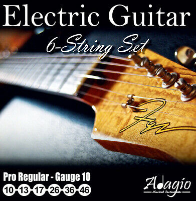 Adagio Pro Nickel Wound Electric Guitar Strings Set Gauge 10-46