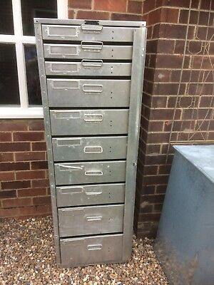 Industral used metal storage cabinet