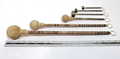 Replacement, Antique style gong mallet, gong stick, Dinner gong striker beater