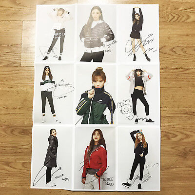 Twice x BeanPole Sports Winter Collection Promotional Folded Double Side Bromide