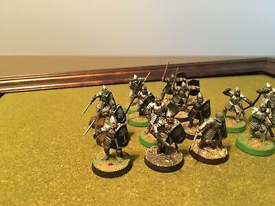 Games Workshop Lord of the Rings LOTR Warriors of Minas Tirith x 15 painted