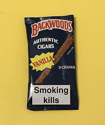 Discontinued Vanilla Backwoods Rare Exotic Single Pouch Of 5