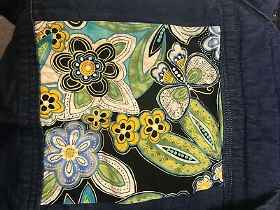 Baby Hawk Mei Tai Grey Baby Carrier Denim/paisley floral /Old school tattoo