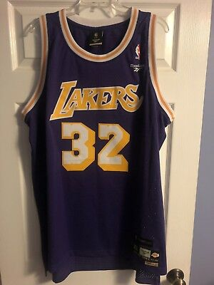 732ac648541 Vintage Hardwood Classics Los Angeles Lakers Magic Johnson Adidas Jersey XL
