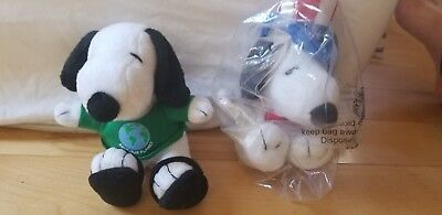 Stuffed Animal Toys Plush Met Life Metlife snoopy uncle sam and earth day