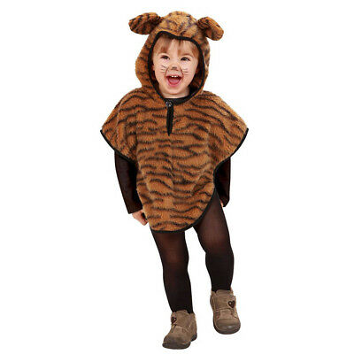 Tiger Kostum Klein Kinder Karneval Fasching Party Baby Tier Umhang