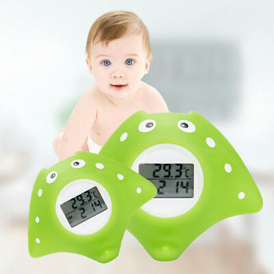 Alarm Bath Infant Backlight Swimming Pool Water Thermometer Floating Digital