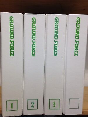 Ground Force Magazine, 4 binders, unknown number of issues