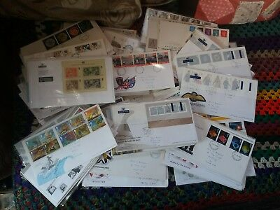 Job lot of 160 x first day cover stamps excellent condition