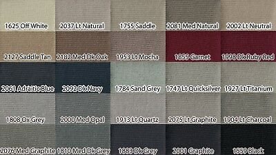 95 x 60 Clear Gray Headliner Fabric Material Upholstery Ceiling Repair Fix Fits 03 /& Up Honda Accord No Sun-roof