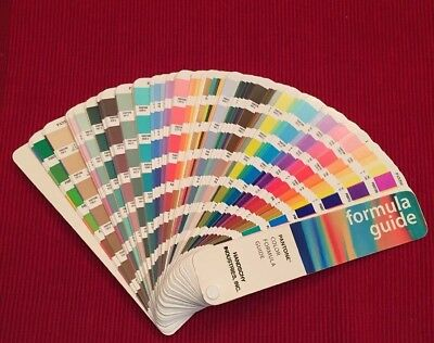 PANTONE Color Formula Guide,1996-1997, 9th Printing, Handschy, Matching System