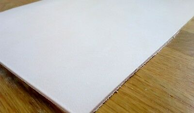 "VEG TAN LEATHER HIDE NATURAL A-GRADE CHOOSE YOUR THICKNESS - 8"" X 12"" (30x20)cm"