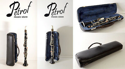 VINTAGE EXTREMELY RARE TOP S CLARINET + Mouthpiece&Original Hard Case~OLD SYSTEM