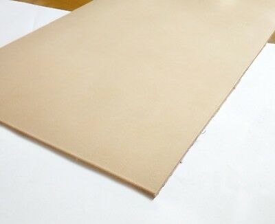 Veg Tanned Leather - A-Grade (2mm, 3mm, 4mm) - Full Grain Veg Tan Tooling Hide
