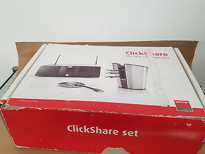 Barco Clickshare Starter Set with 4 x Buttons and Tray