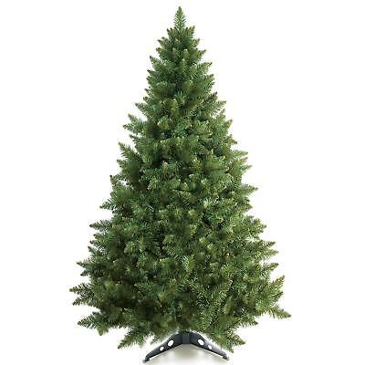 6 Feet Premium Hinged Artificial Christmas Tree w/ Stand Branches Fire Resistant