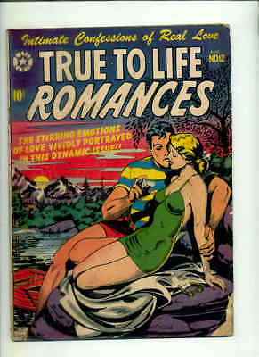TRUE TO LIFE ROMANCES 12 GVG/3.0 (Scarce LB Cole swimsuit cover ! Only 2 CGCs )