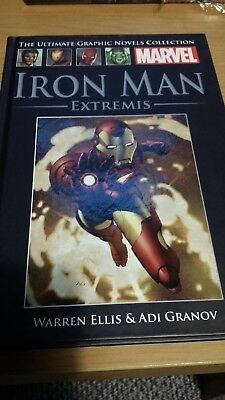 *NEW* MARVEL COLLECTION - IRON MAN EXTREMIS- HardBack Graphic Novel