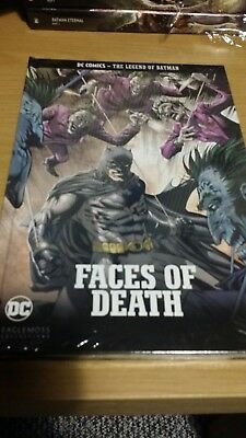 *NEW* EAGLEMOSS COLLECTIONS - BATMAN (FACES OF DEATH) HardBack Graphic Novel