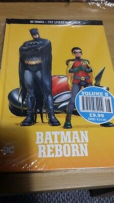 *NEW* EAGLEMOSS COLLECTIONS- BATMAN REBORN - HardBack Graphic Novel