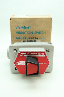 Metrix 517320 Vibralert Vibration Switch 480v-ac