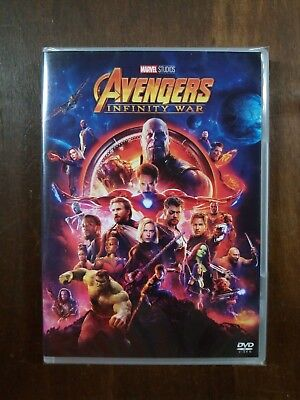 Avengers Infinity War - Marvel Studios - Dvd Video