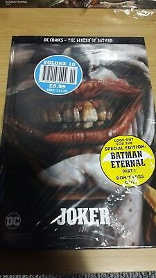 *NEW* EAGLEMOSS COLLECTIONS - BATMAN (JOKER) HardBack Graphic Novel