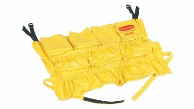 Rubbermaid Brute® Caddy Bag, FG264200YEL, Yellow, Fits 32 & 44 Gal Brute Cntrs