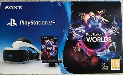 Sony PlayStation PS4 VR Brille + Kamera+VR Worlds + 6 Spiele + 2 Move Controller