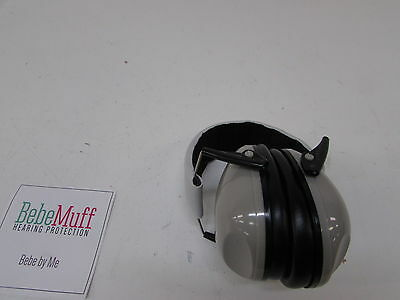 Bebe Muff Hearing Protection, Silver
