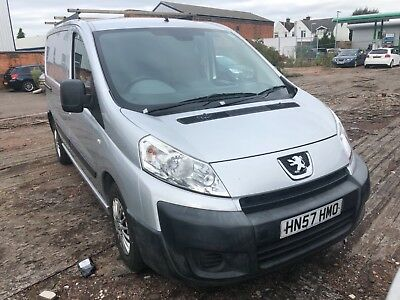 2007 Peugeot Expert Hdi Swb Silver 1.6 Loads Of New Parts 12 Months Mot