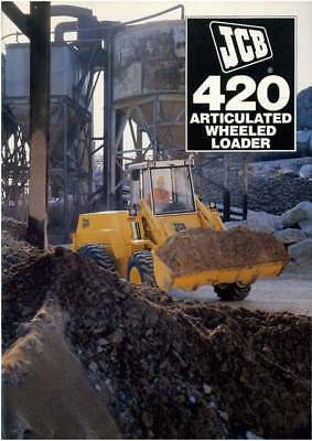 JCB 420 Articulated Wheeled Loader Brochure