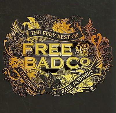 Very Best of Free and Bad Company - Free Compact Disc Free Shipping!