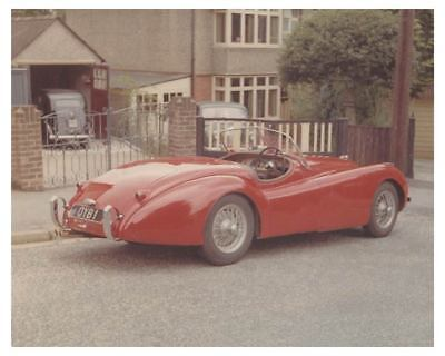 1950 1951 Jaguar XK120 Roadster Automobile Photo ch3980