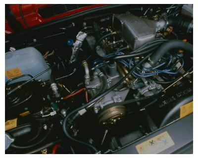 1989 Range Rover Engine Automobile Factory Photo ch4235