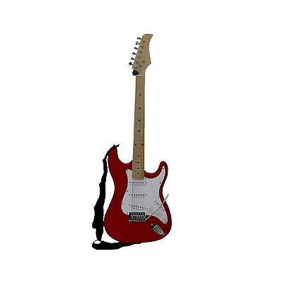 6 String Full Sized Electric Guitar With Case And Accessories
