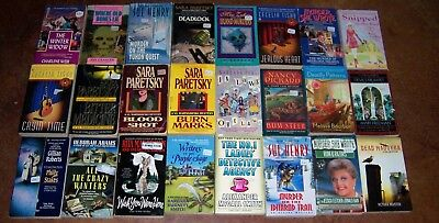Lot of 24 Mystery PB's w/ Numerous Cozy types ~LISTED Kate Collins Nancy Pickard