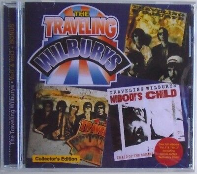 THE TRAVELING WILBURYS - CD - Vol 1 & Vol 3 And Bonus - BRAND NEW