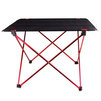 2X(Portable pliable Table pliante bureau Camping pique-nique en plein air 6V4T1)
