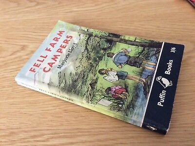 Fell Farm Campers by Marjorie Lloyd ..1st edition Puffin  140  (1960)