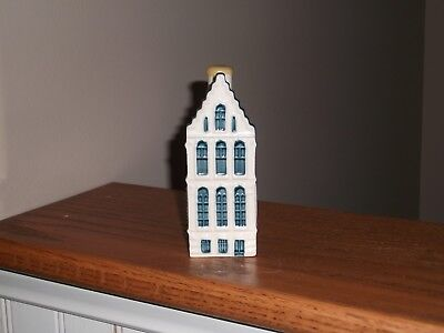 Blue Delfts for KLM by Bols Royal Distilleries Holland House #52 Mini Dutch Full