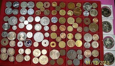 Lot Of More Than 100 Coins Vf To Unc No Junk - U.s.a Vg Or Better 12 Nice Silver