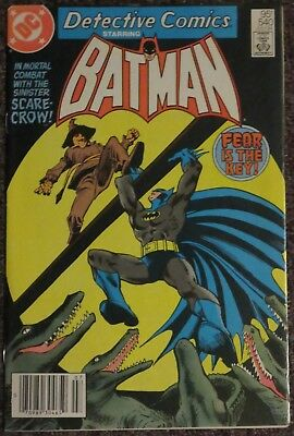 Detective Comics #540 1937 Series VF (Scarecrow Appearance)