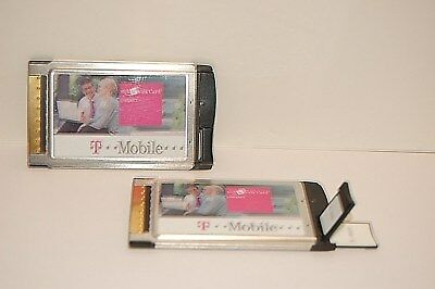 T Mobile Web n Walk Card  PCMCIA Card mit Antenne